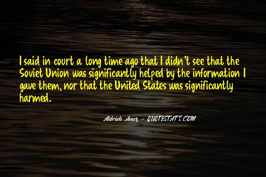 Aldrich Ames Quotes #246991