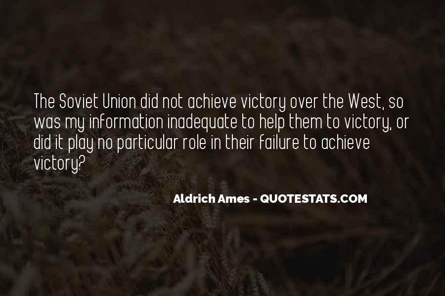 Aldrich Ames Quotes #862080