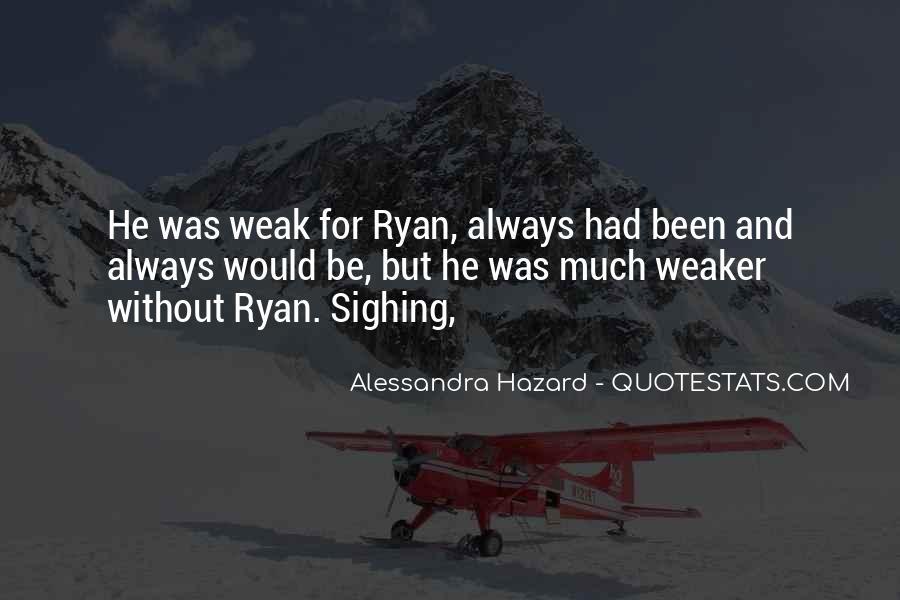 Alessandra Hazard Quotes #117421