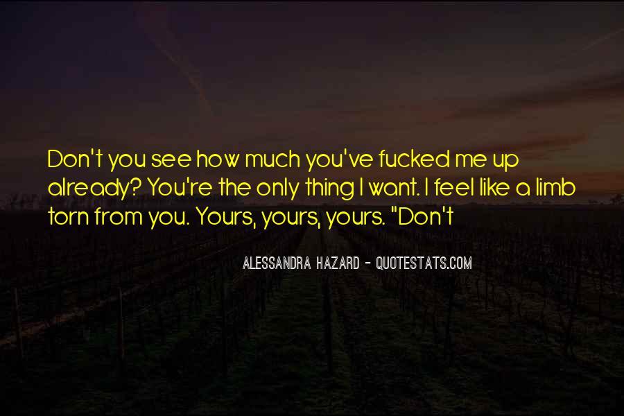 Alessandra Hazard Quotes #1191380