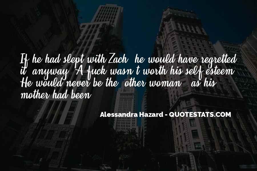 Alessandra Hazard Quotes #1684851