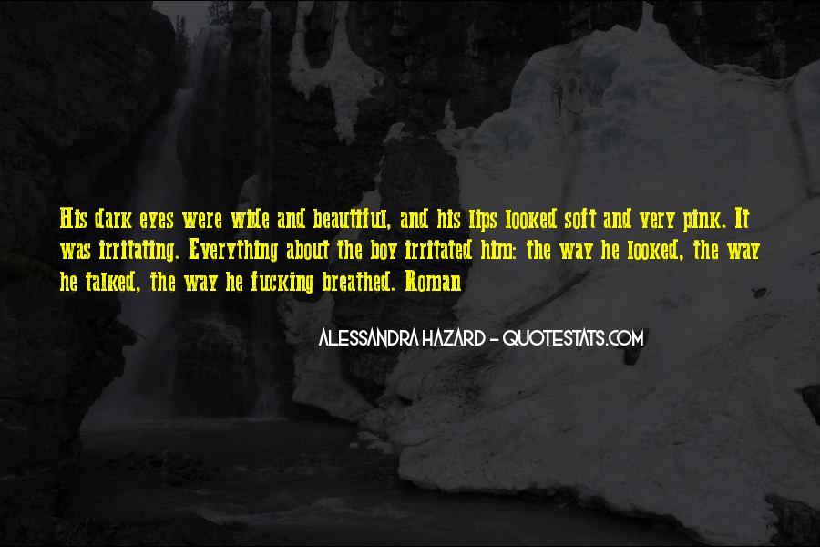 Alessandra Hazard Quotes #1726136