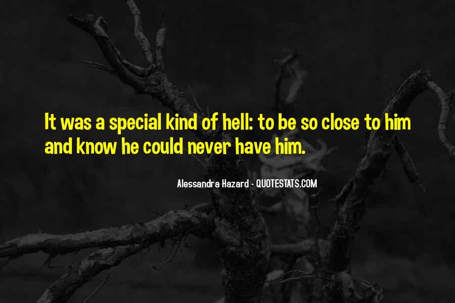 Alessandra Hazard Quotes #1807964
