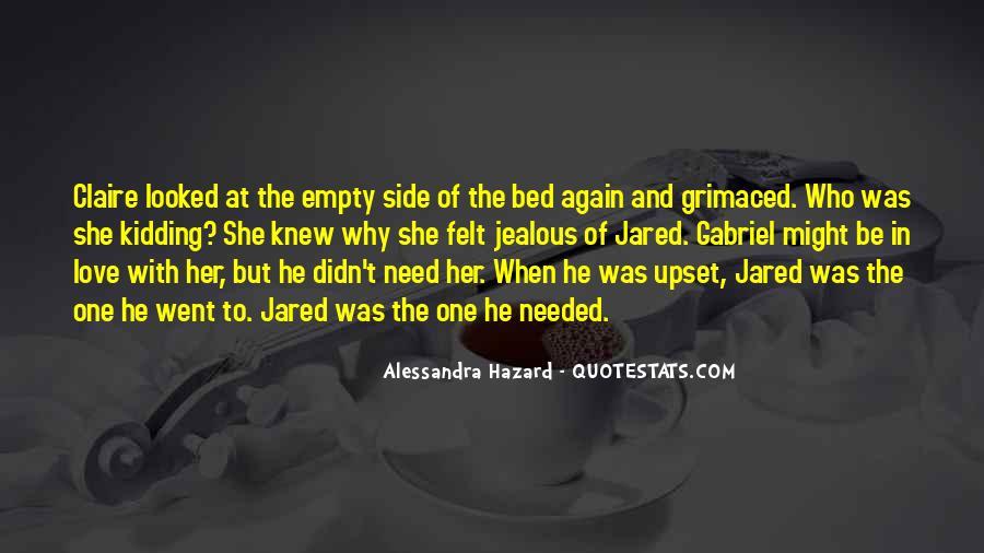 Alessandra Hazard Quotes #869864