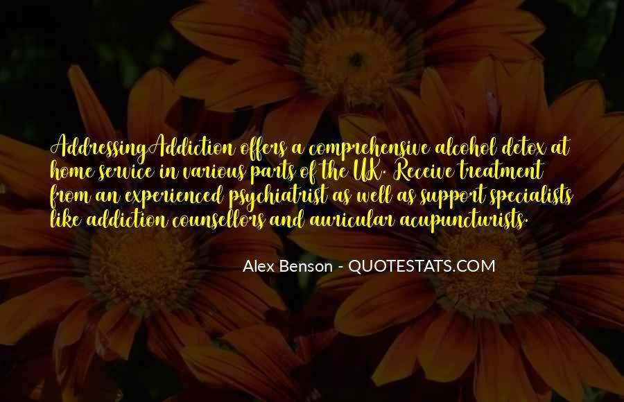 Alex Benson Quotes #369152