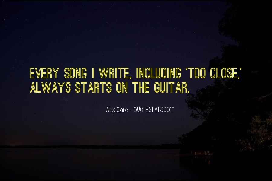 Alex Clare Quotes #1026969