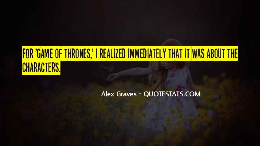 Alex Graves Quotes #1046662