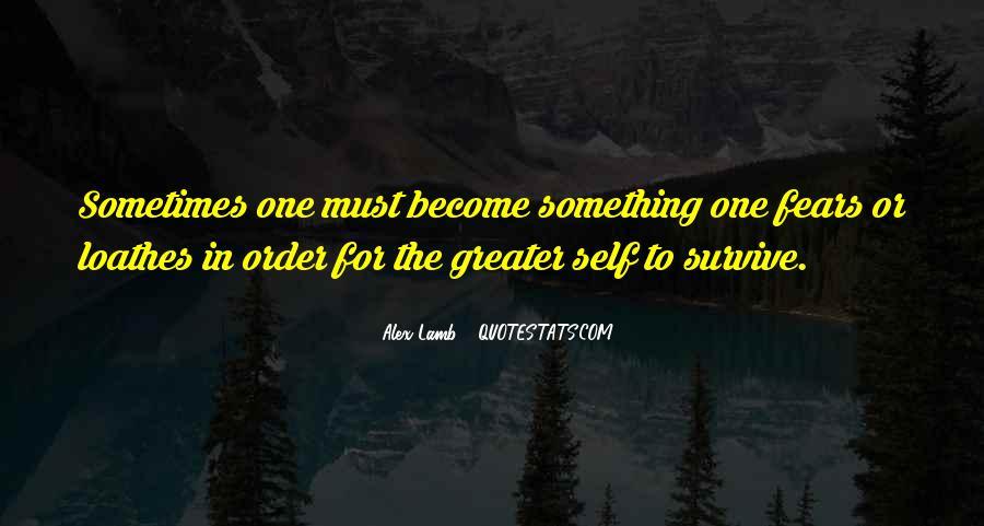 Alex Lamb Quotes #880912