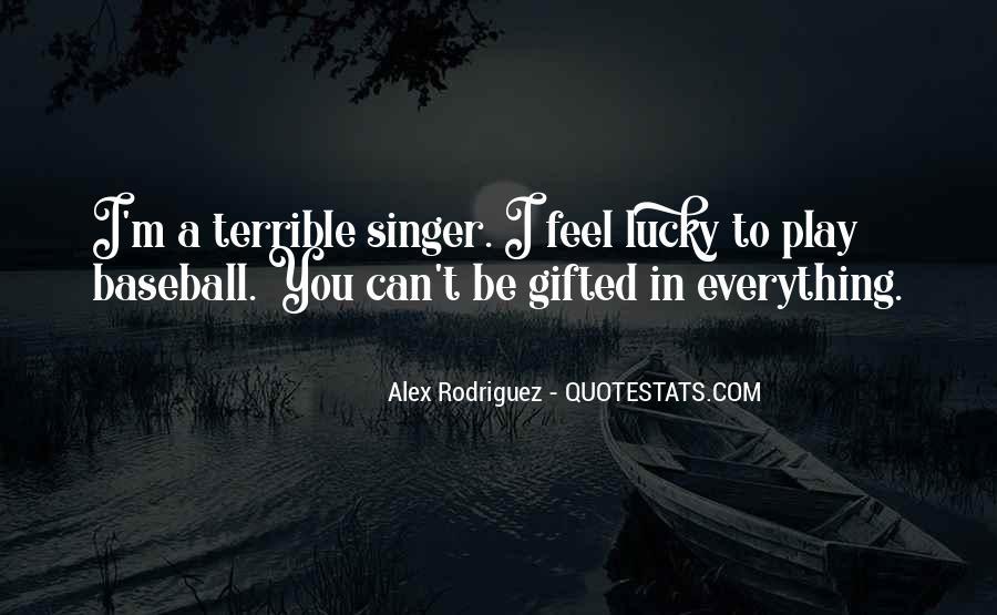 Alex Rodriguez Quotes #232488