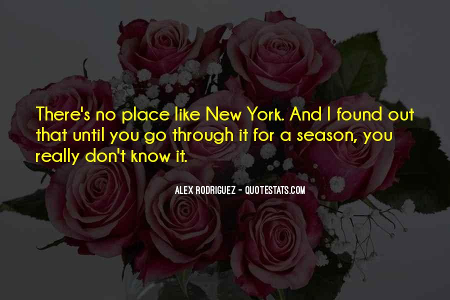 Alex Rodriguez Quotes #542309