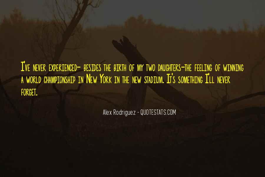 Alex Rodriguez Quotes #550339