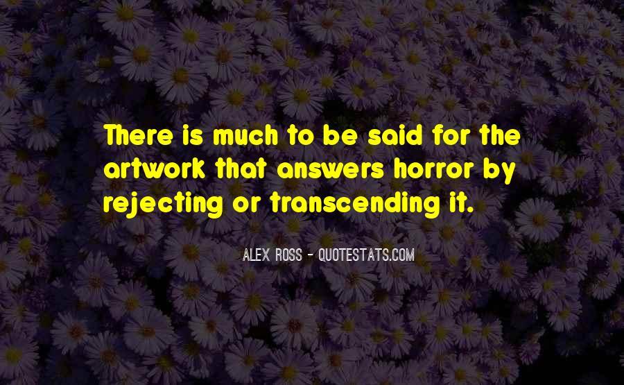 Alex Ross Quotes #726421