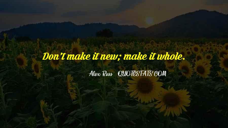 Alex Ross Quotes #826289