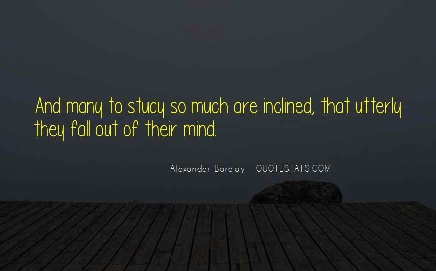 Alexander Barclay Quotes #1422081