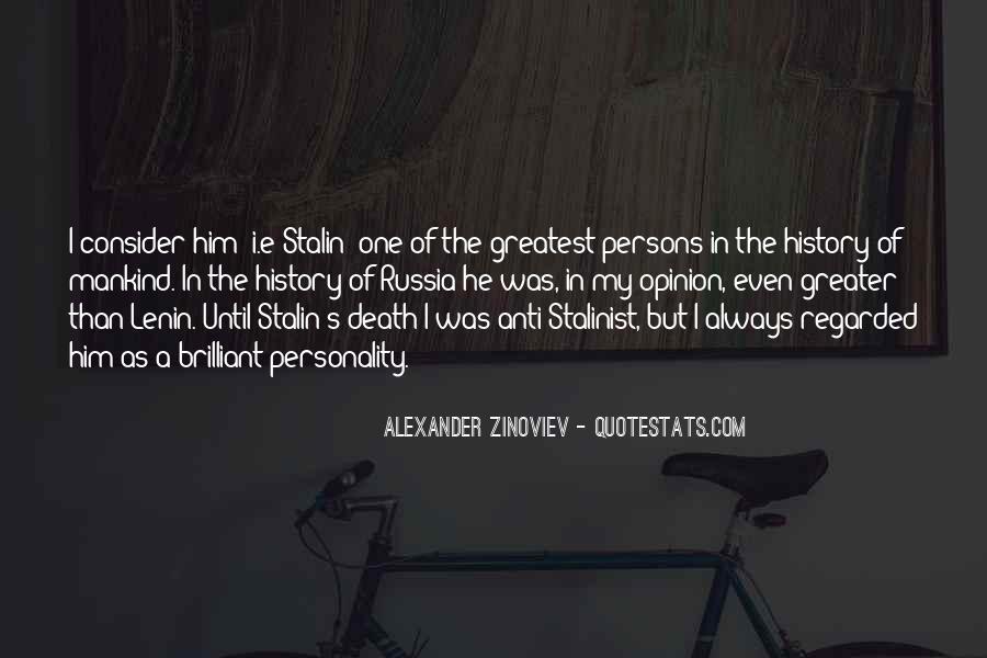 Alexander Zinoviev Quotes #1018464