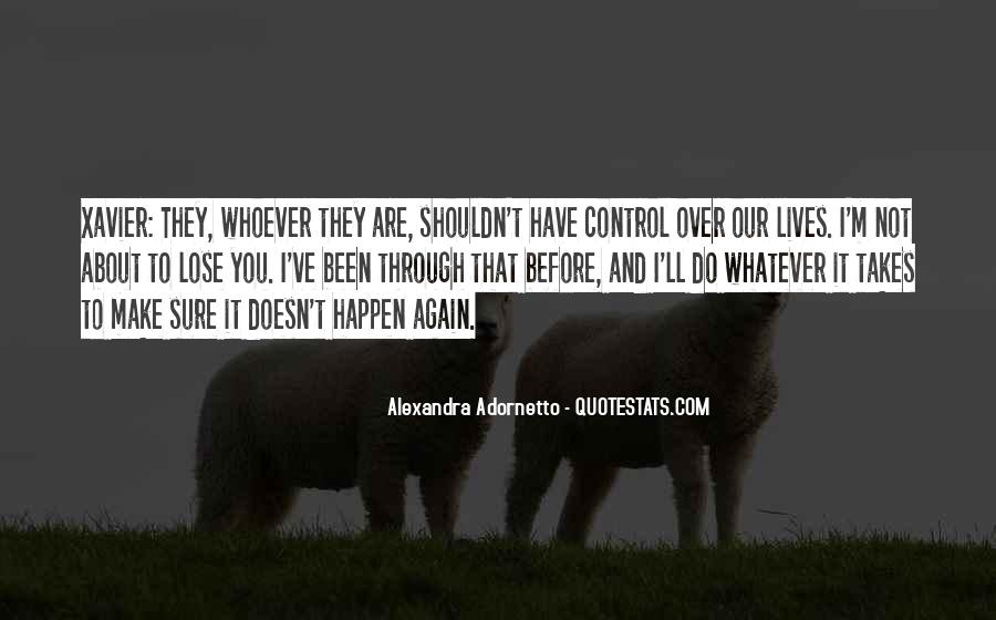 Alexandra Adornetto Quotes #1425296