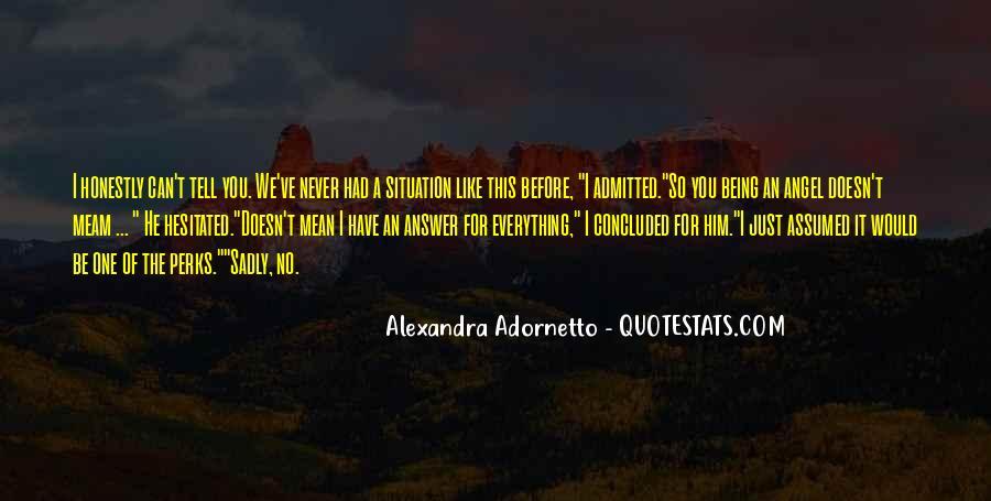Alexandra Adornetto Quotes #395849