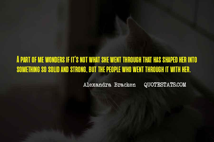 Alexandra Bracken Quotes #1717202