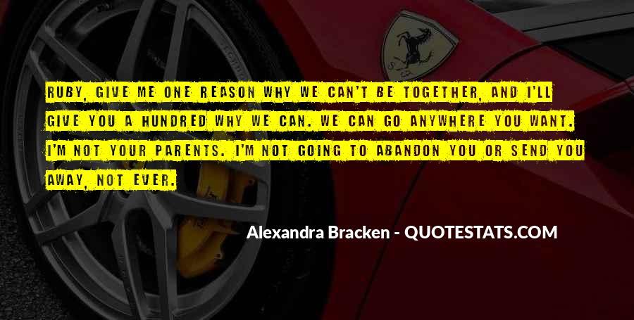 Alexandra Bracken Quotes #405862