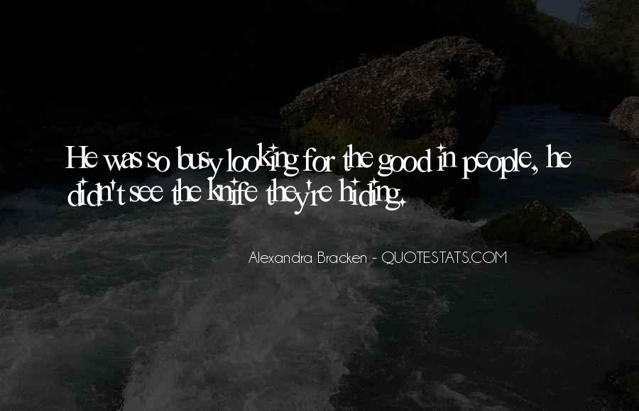 Alexandra Bracken Quotes #408181