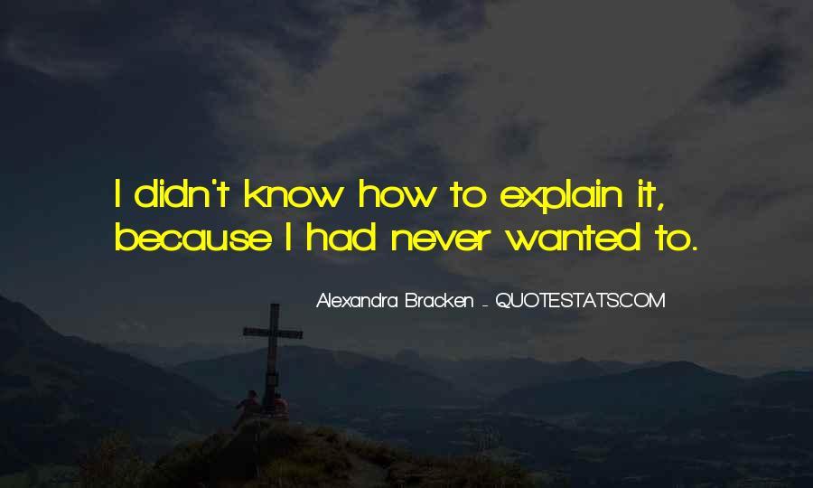 Alexandra Bracken Quotes #620040