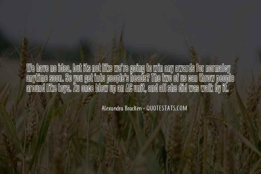 Alexandra Bracken Quotes #86377