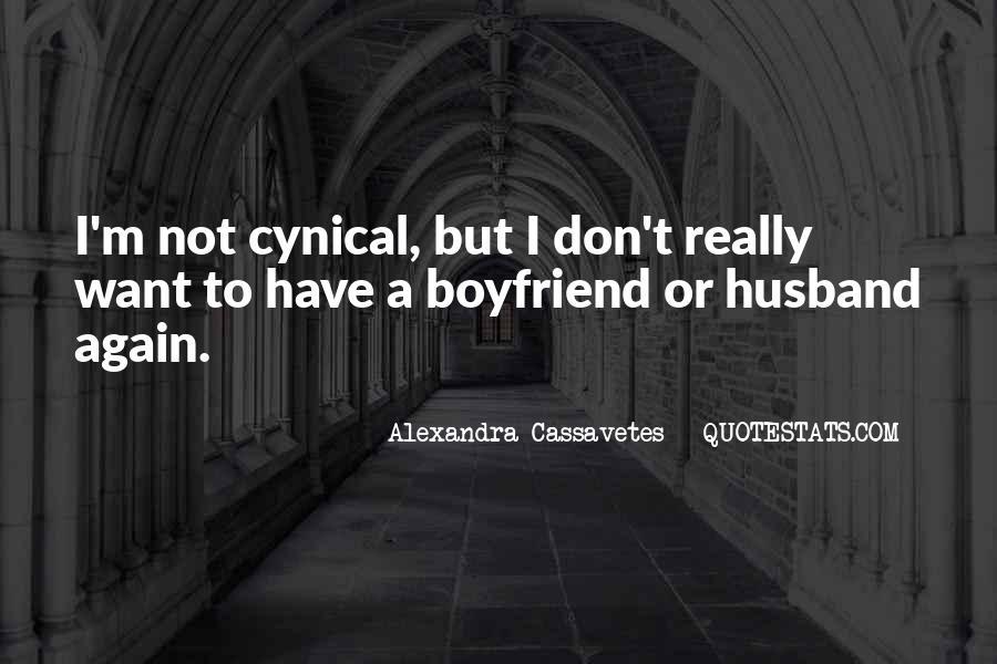 Alexandra Cassavetes Quotes #495387