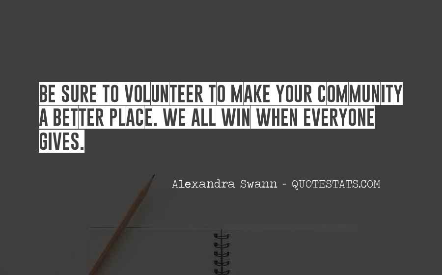 Alexandra Swann Quotes #1080388
