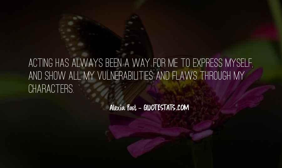 Alexia Fast Quotes #698636