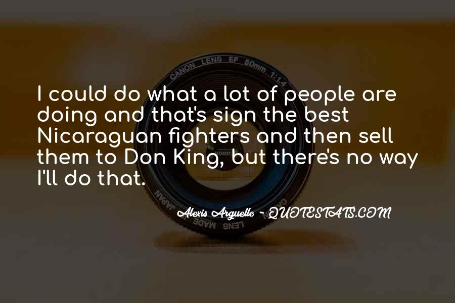 Alexis Arguello Quotes #1007398