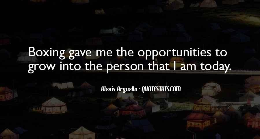 Alexis Arguello Quotes #114154