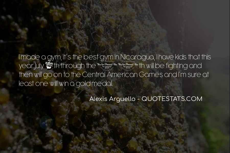 Alexis Arguello Quotes #1778604