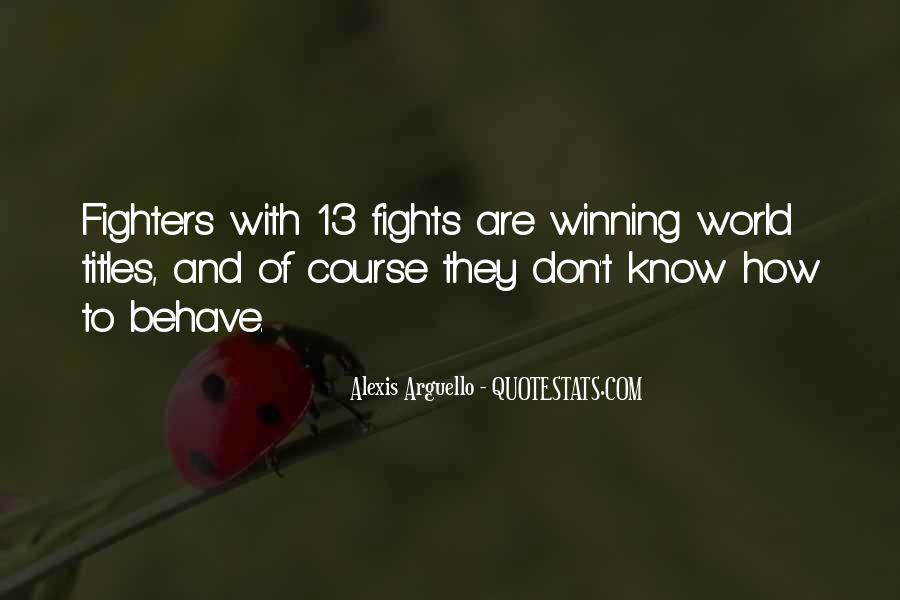 Alexis Arguello Quotes #1822110