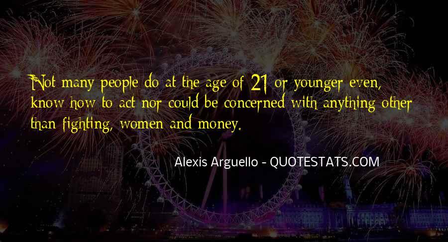 Alexis Arguello Quotes #426679