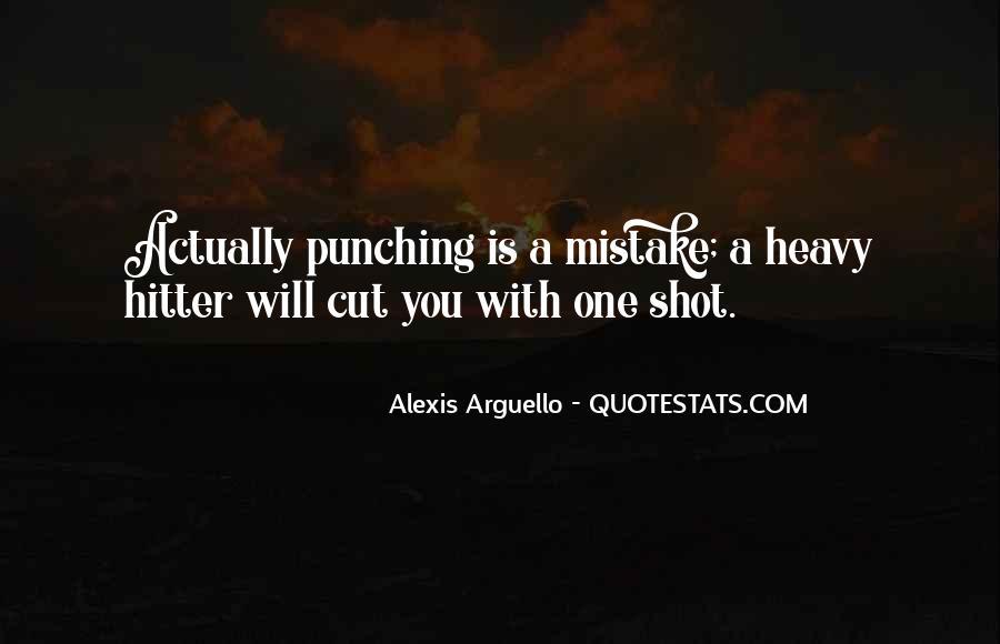 Alexis Arguello Quotes #938234