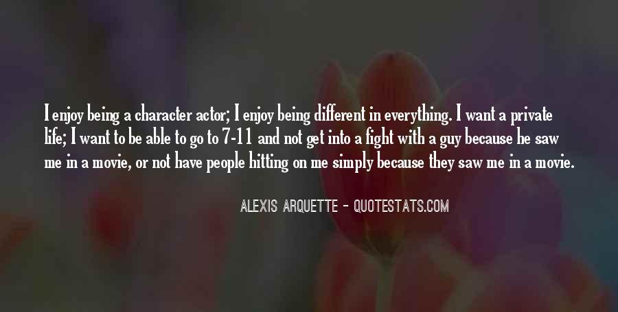 Alexis Arquette Quotes #1312097