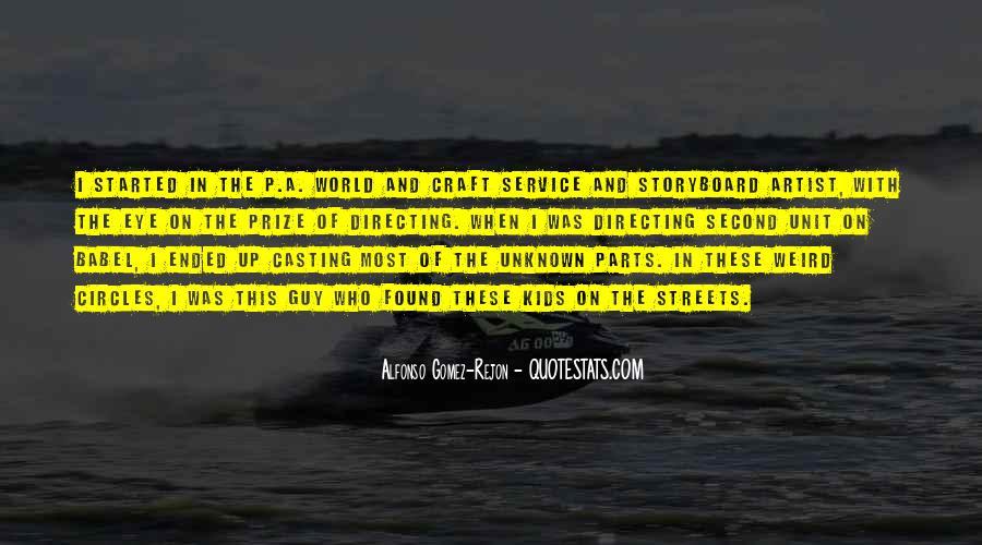 Alfonso Gomez-Rejon Quotes #341121