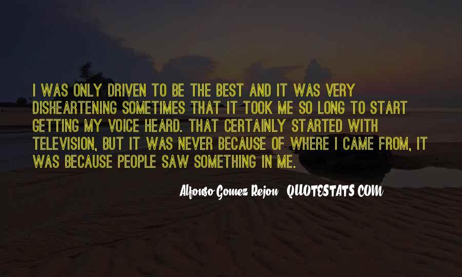 Alfonso Gomez-Rejon Quotes #993509
