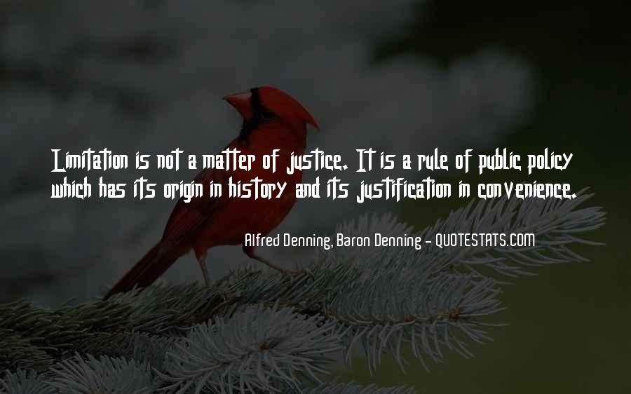 Alfred Denning, Baron Denning Quotes #451527