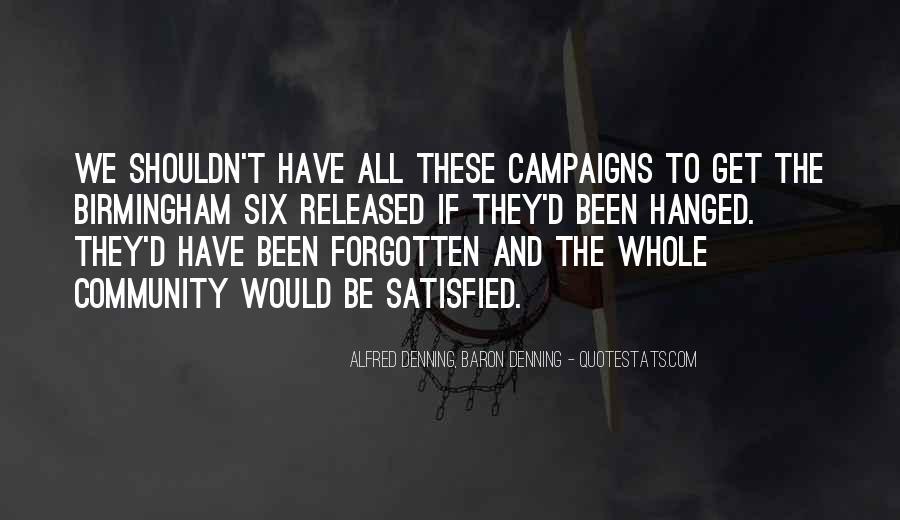 Alfred Denning, Baron Denning Quotes #481863