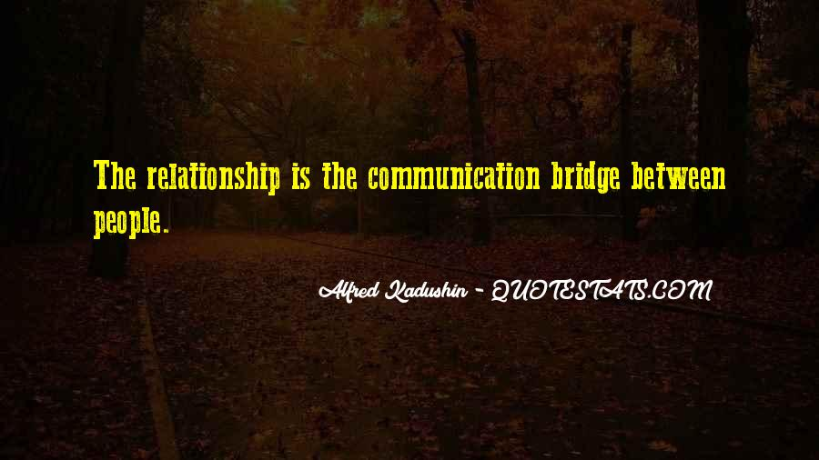 Alfred Kadushin Quotes #947907