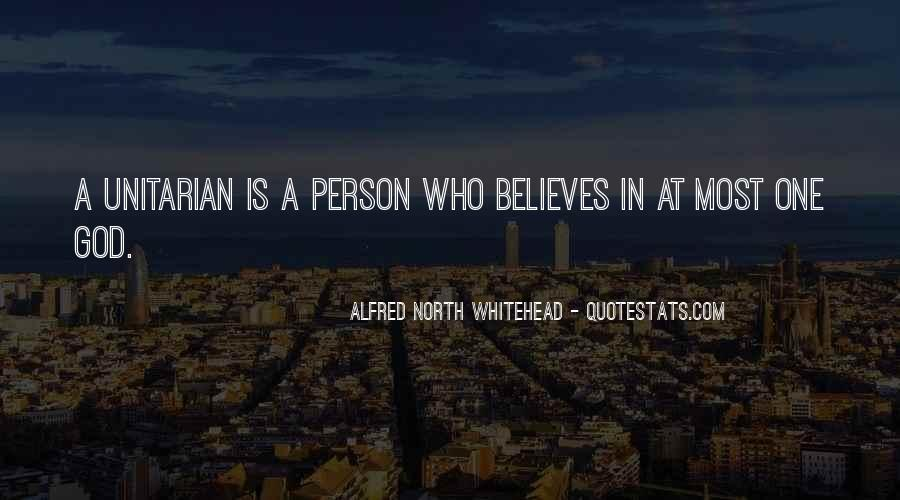 Alfred North Whitehead Quotes #1030425