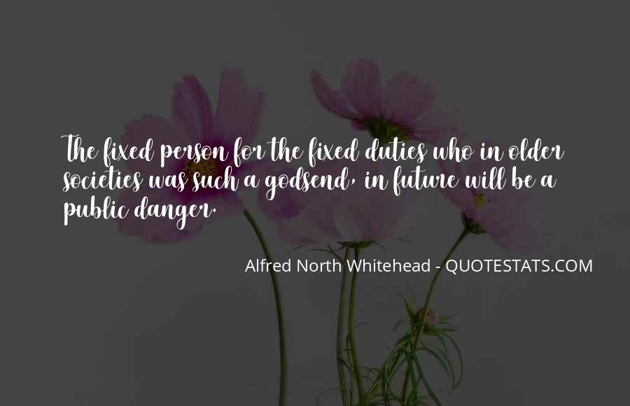 Alfred North Whitehead Quotes #111573