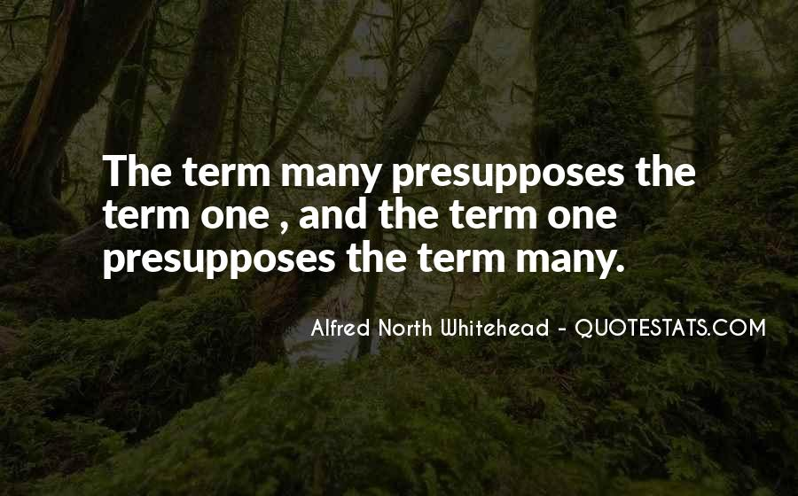Alfred North Whitehead Quotes #1166975