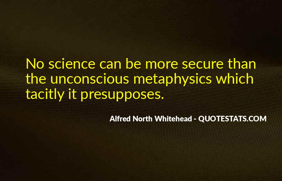 Alfred North Whitehead Quotes #1386288