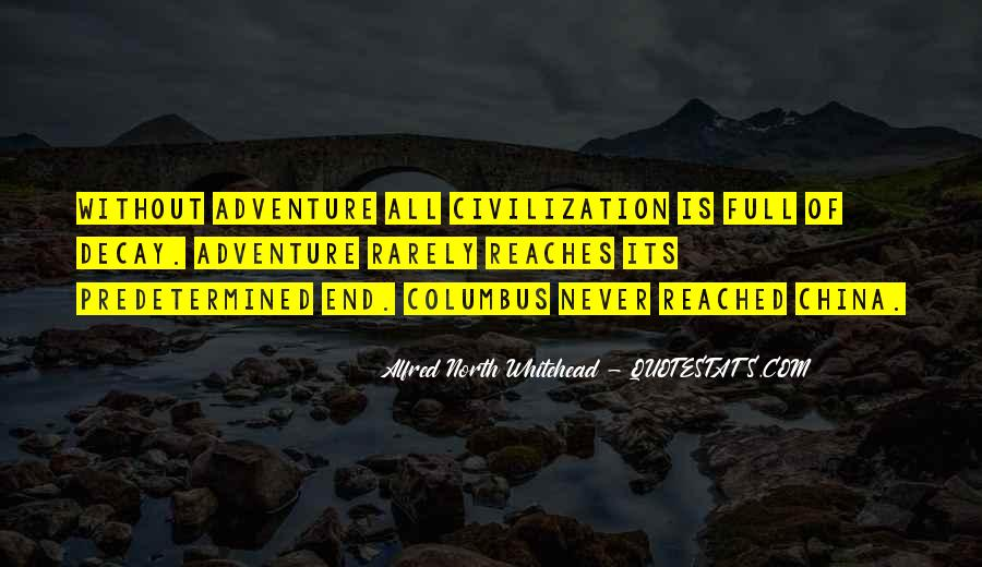 Alfred North Whitehead Quotes #1494396
