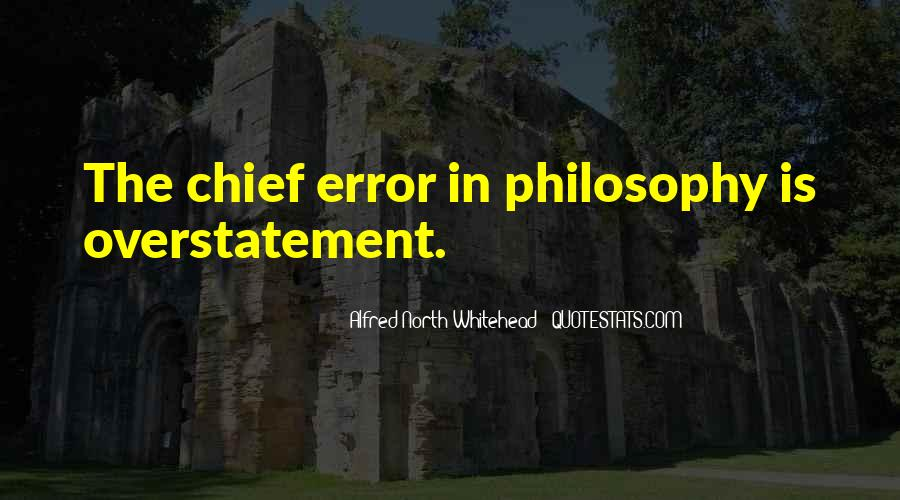 Alfred North Whitehead Quotes #1601014