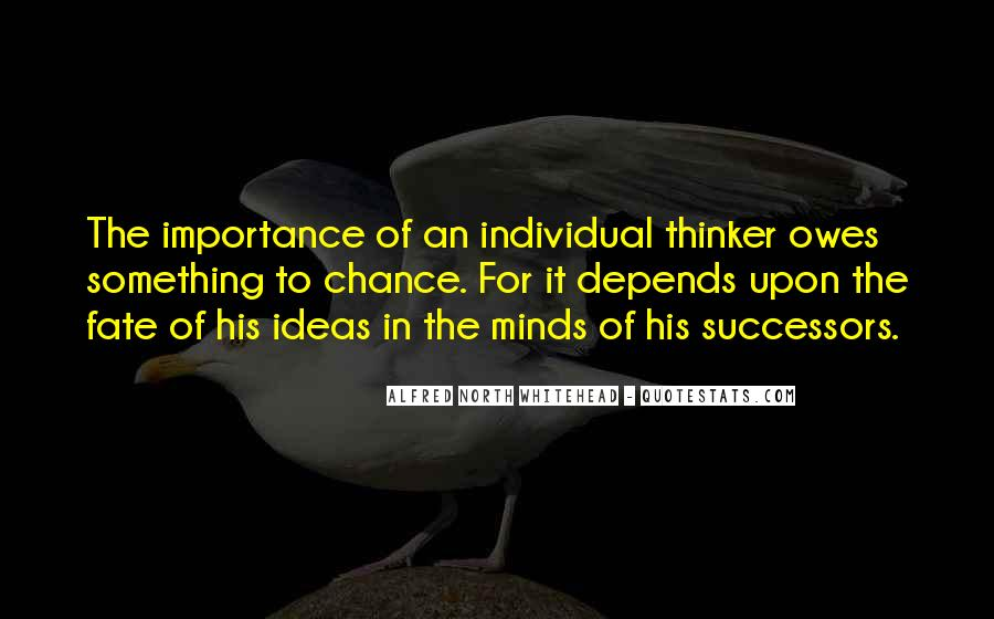 Alfred North Whitehead Quotes #1617564