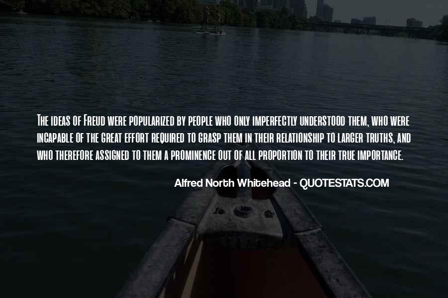 Alfred North Whitehead Quotes #1738181