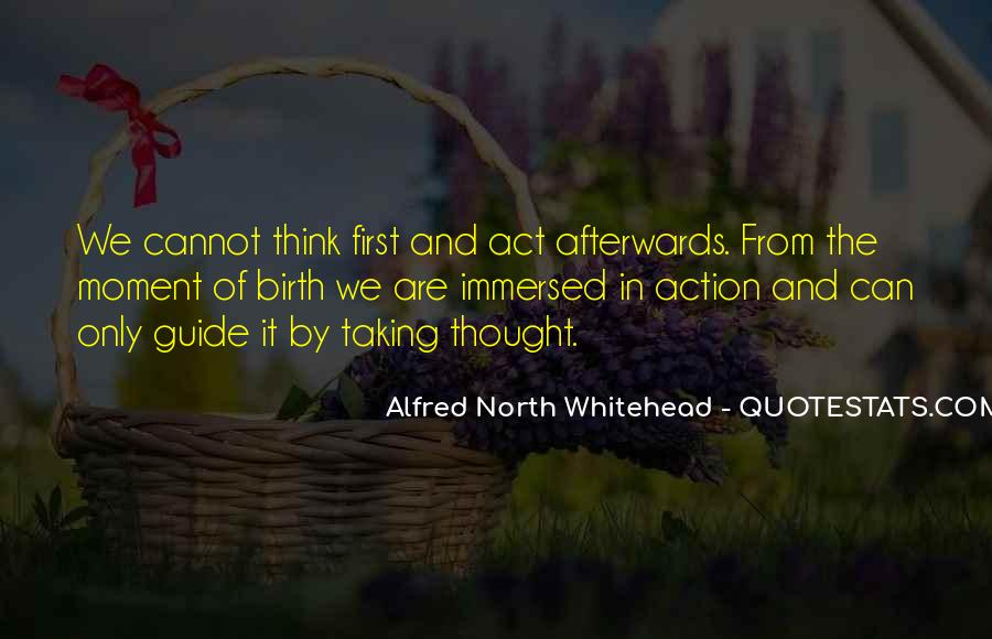 Alfred North Whitehead Quotes #1812954